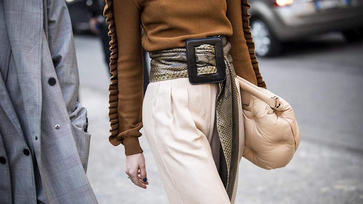 Как носить пояс: 7 лучших вариантов стилизации