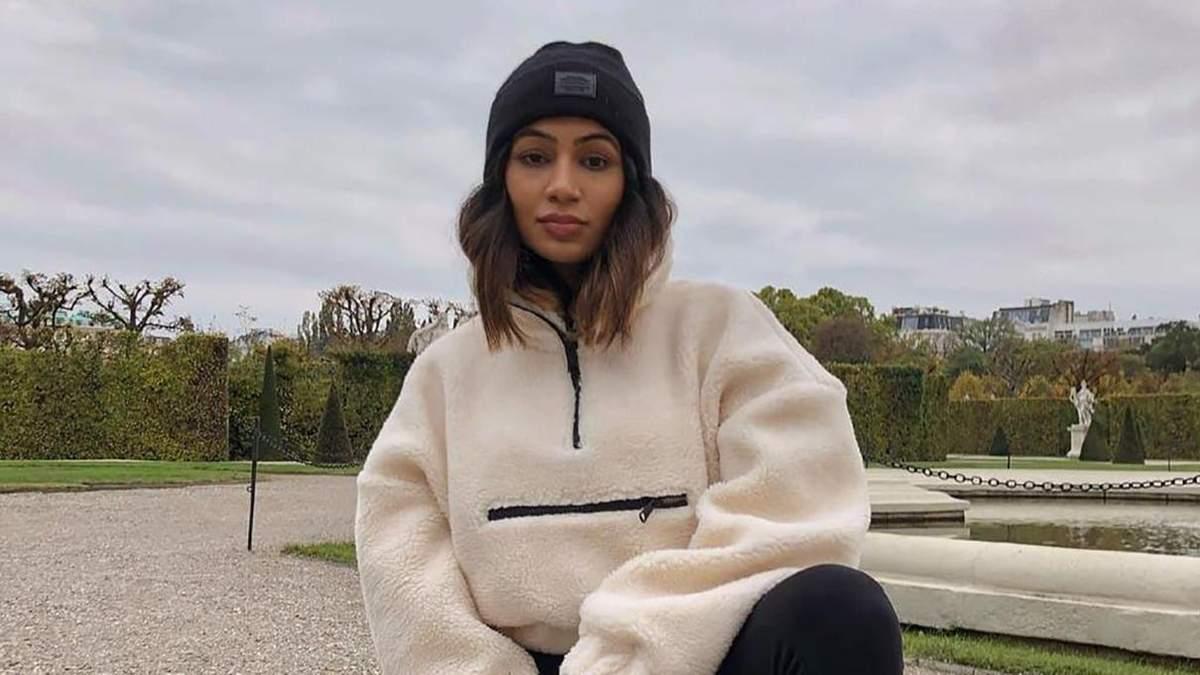 Instagram-тренд – светри на блискавці: як його носять відомі блогери