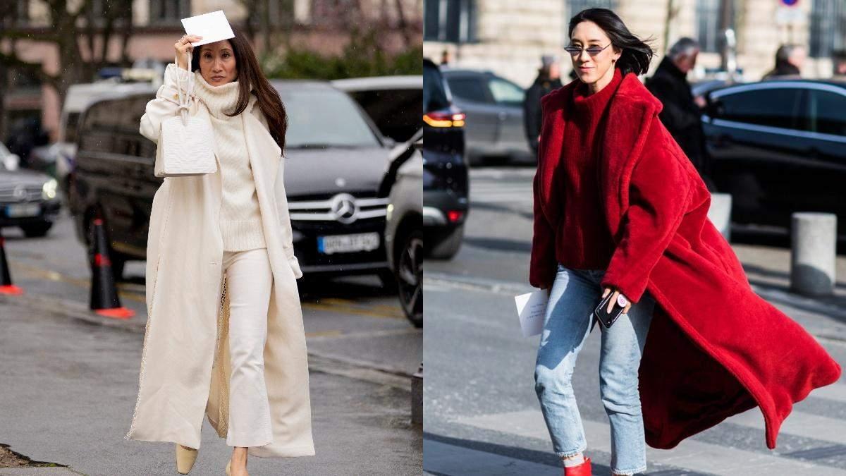 Пальто на зиму 2021: стильные варианты