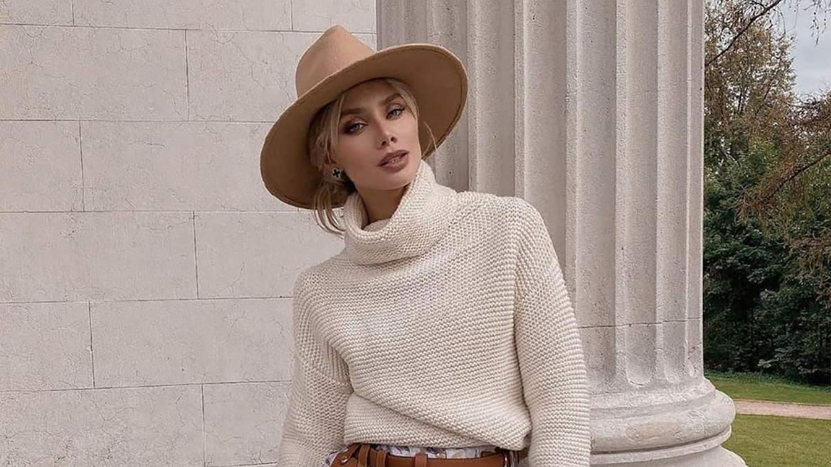 Как стильно носить свитер: подборка самых интересных вариантов