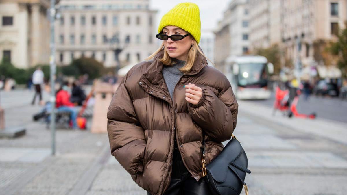 Стильні аксесуари на зиму у фотографіях