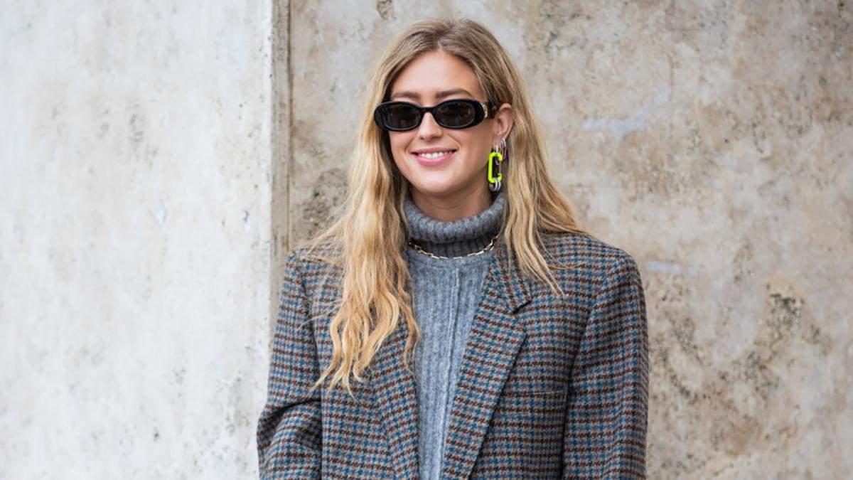 Одеваемся стильно: с чем носить свитер с высоким горлом