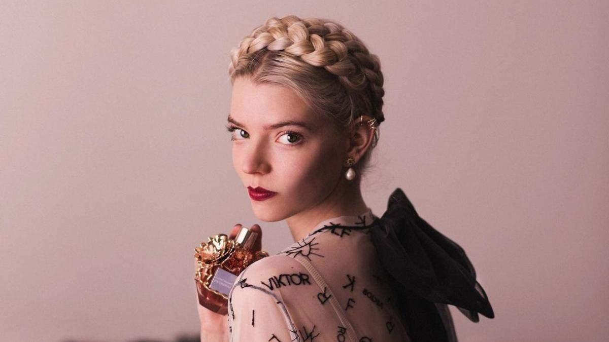 Аня Тейлор-Джой снялась в рекламе Viktor & Rolf фото