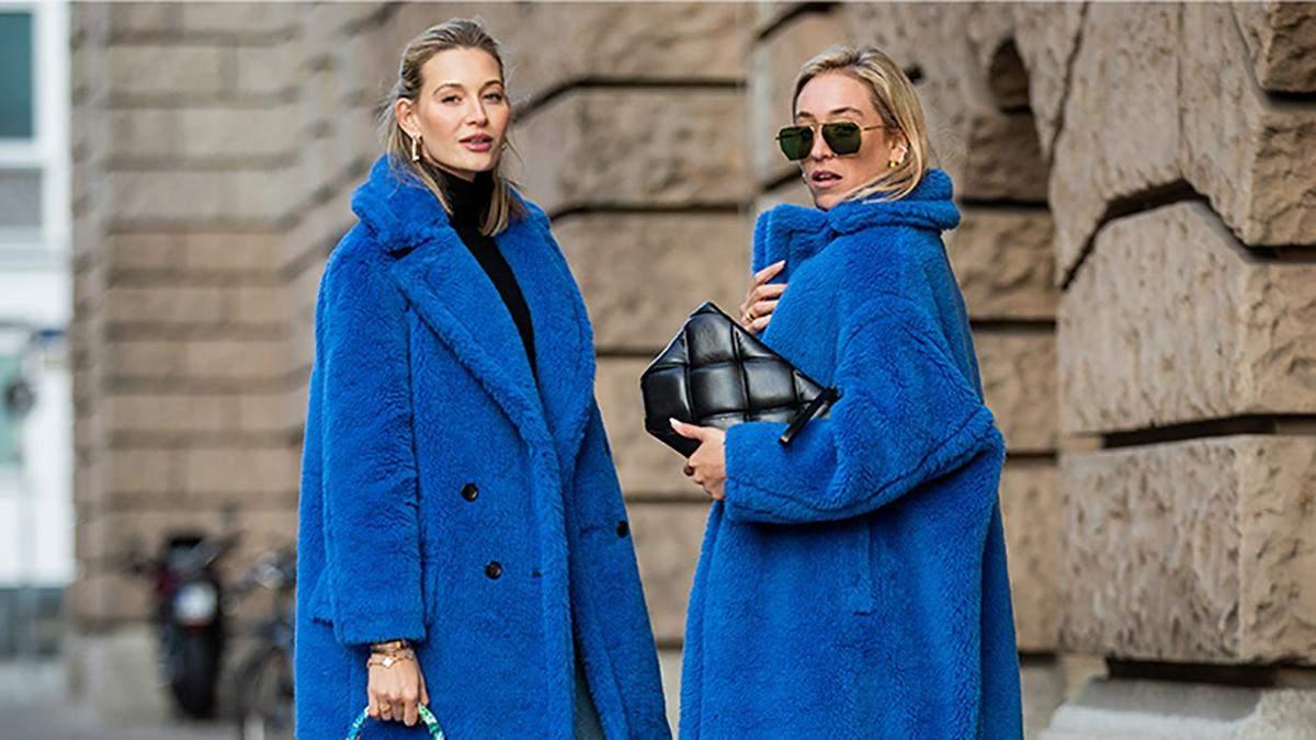 Стильные варианты ношения шубы зимой
