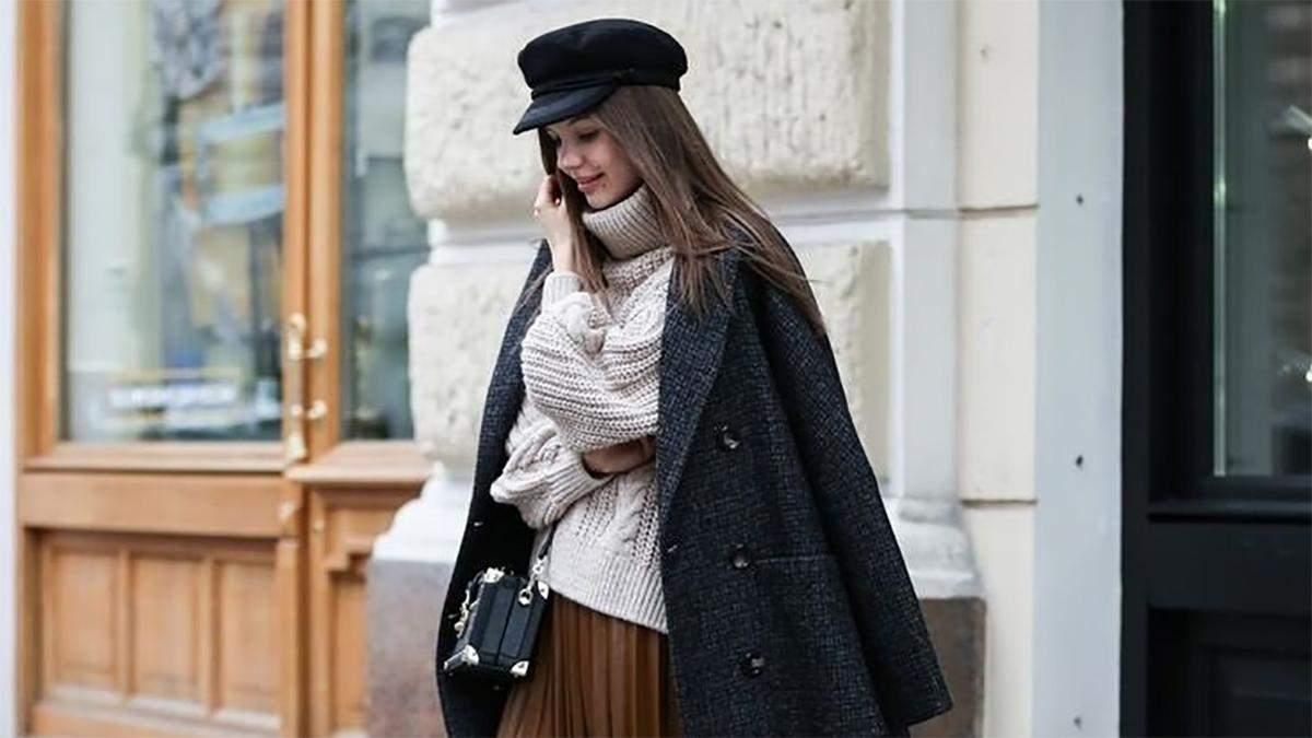 Как не надо носить юбку зимой: важные детали