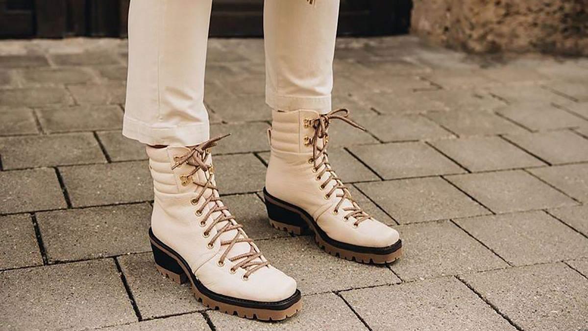Актуальне зимове взуття 2021: фото