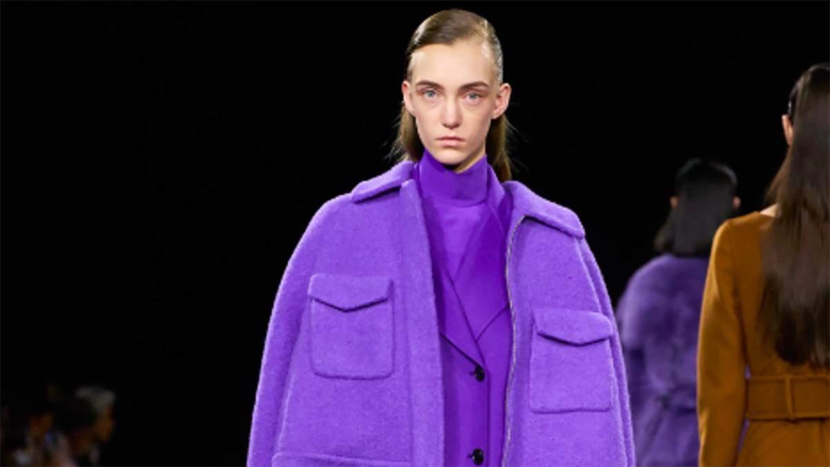 Самый модный цвет зимы - фиолетовый