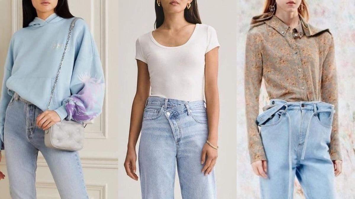Актуальні моделі джинсів 2021: модні стилізації