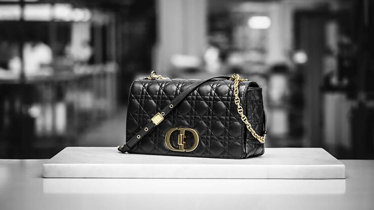 Dior Caro - нова модель сумки знаменитого бренду: фото