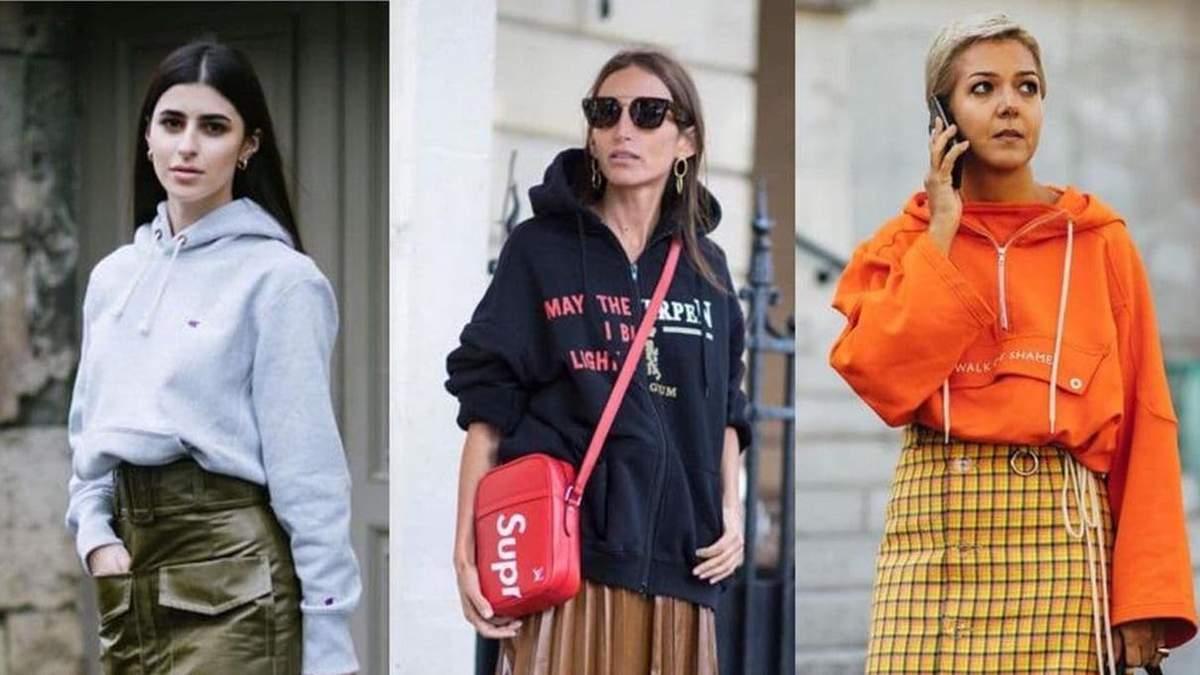 Носим худи стильно: 24 ярких образа на каждый день