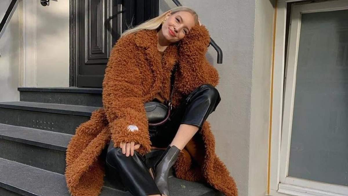 Как научиться зимой носить цветные вещи: фото
