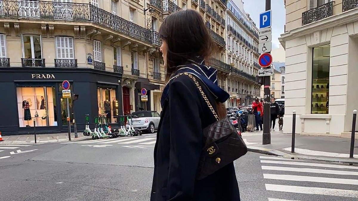 Французская мода: как модницы выглядят зимой