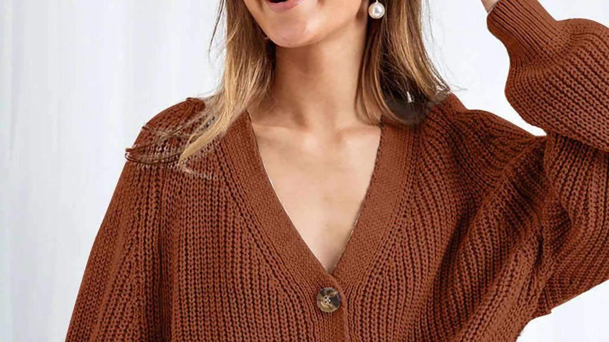 Хіт цієї зими – вовняний кардиган: вчимося носити за прикладом модних блогерів