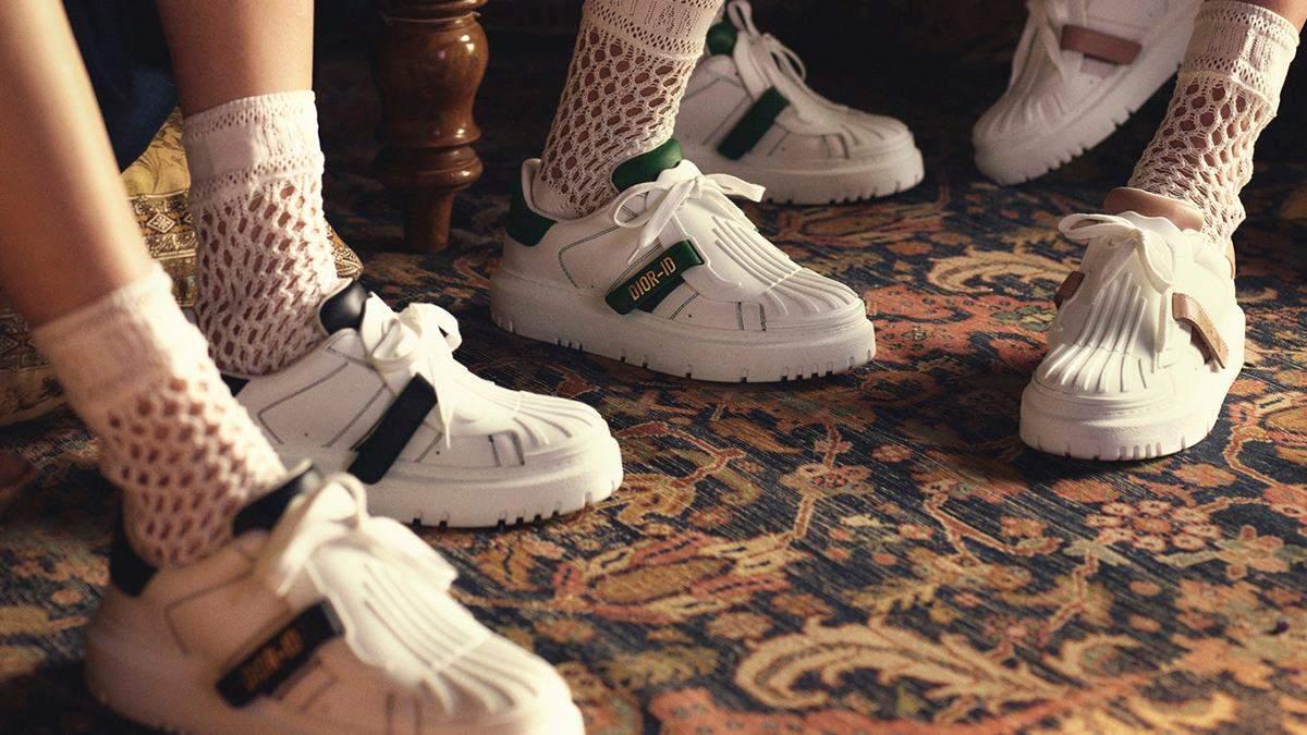 Новый объект обожания – кроссовки Dior-ID, которые идеально подойдут для весенних прогулок