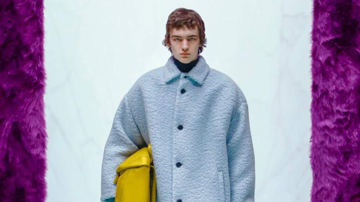 Міучча Прада та Раф Сімонс показали першу чоловічу колекцію осінь-зима 2021: фото