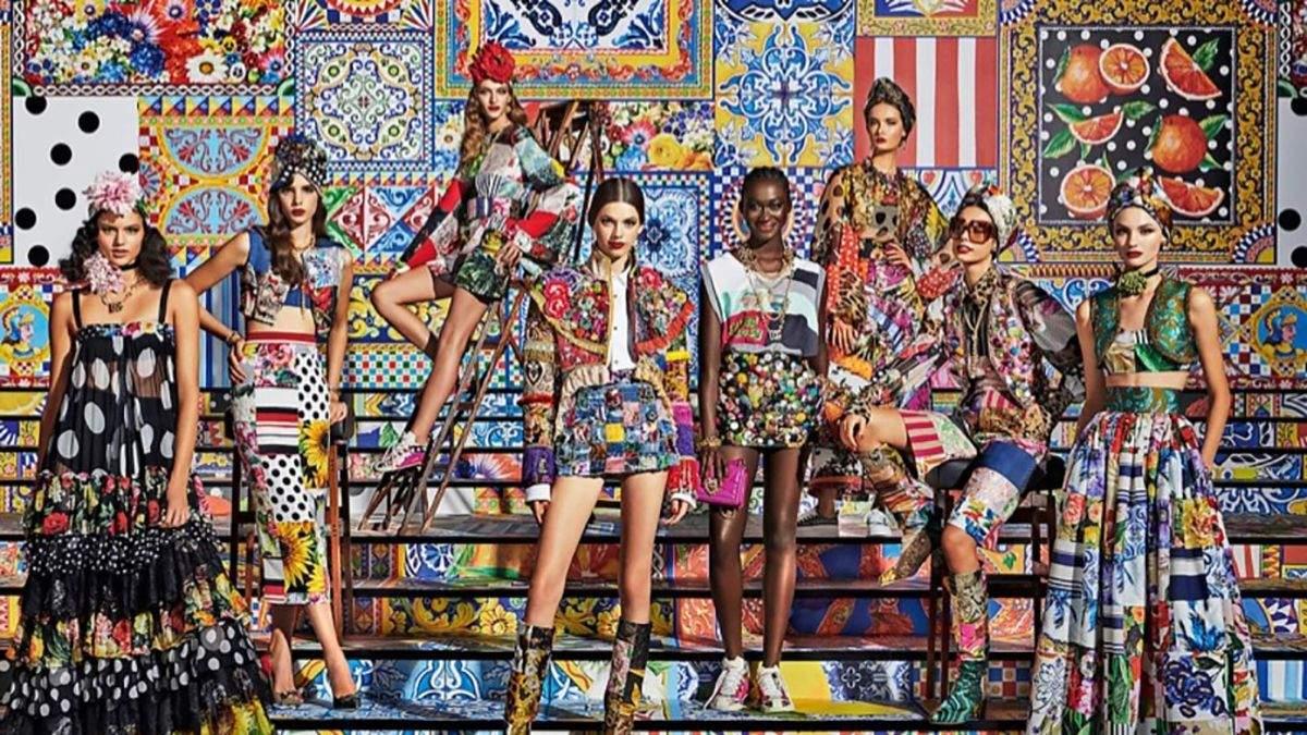 Тотальный пэчворк: Dolce & Gabbana представили рекламную кампанию весна-лето 2021