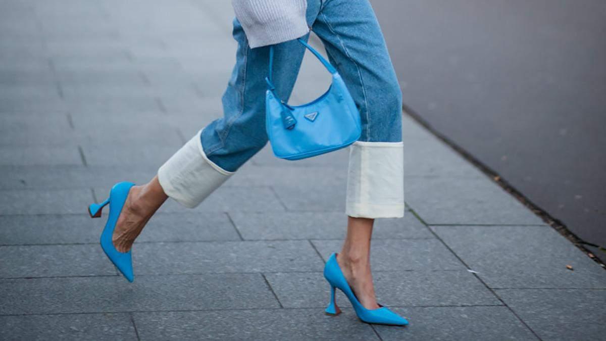 С чем носить джинсы в 2021 году: примеры на фото