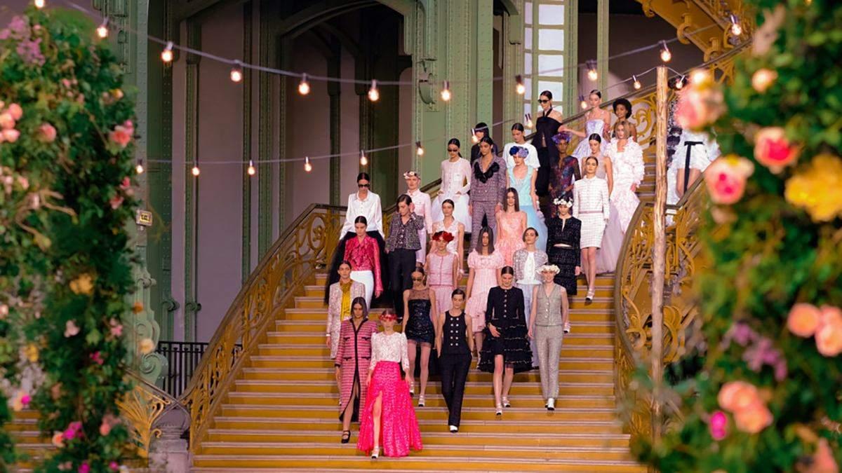 Кутюрный показ Chanel весна-лето 2021: фото и видео