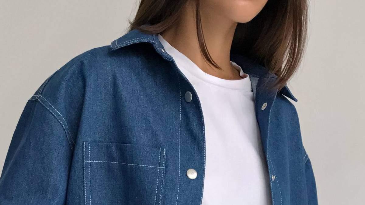 Як носити джинсову сорочку навесні: стильні фото