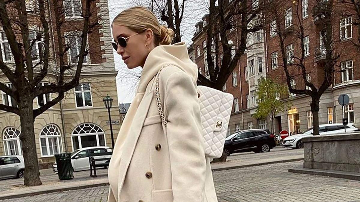 Как носить белый цвет зимой: стильные варианты