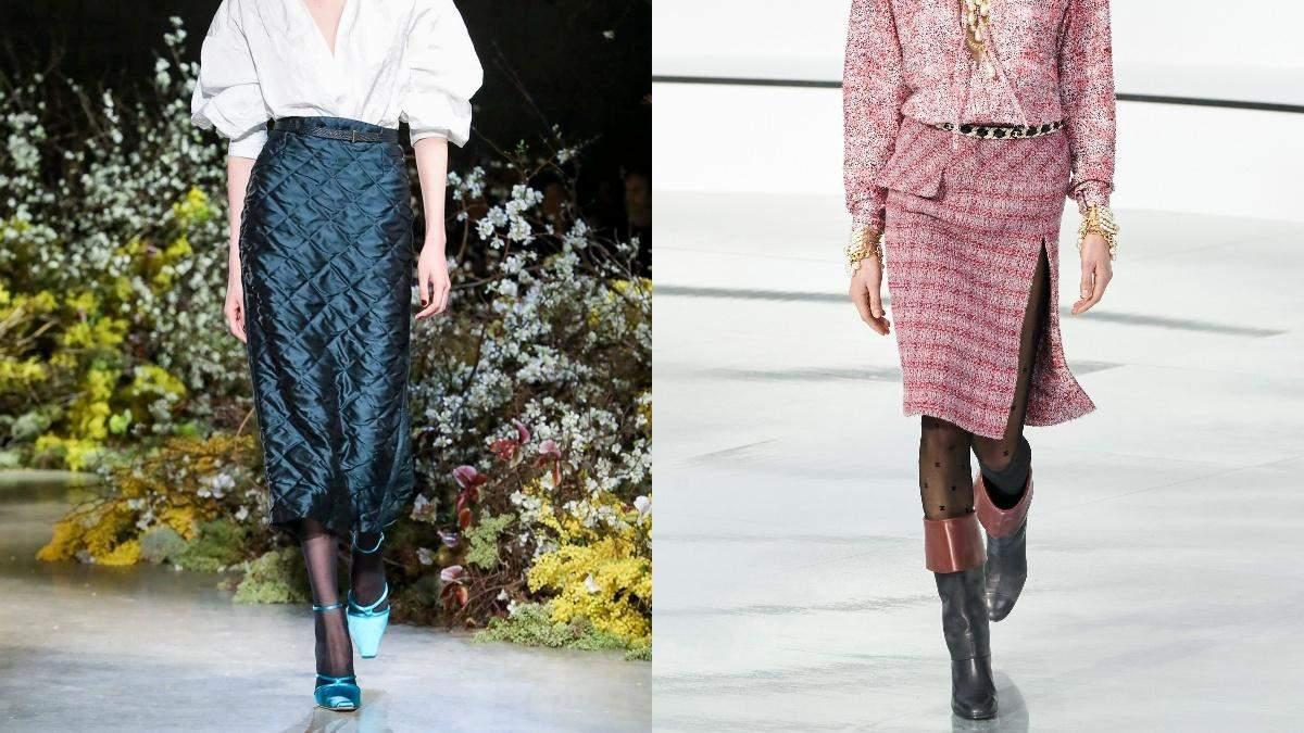 Як носити спідниці взимку: фото стильних образів