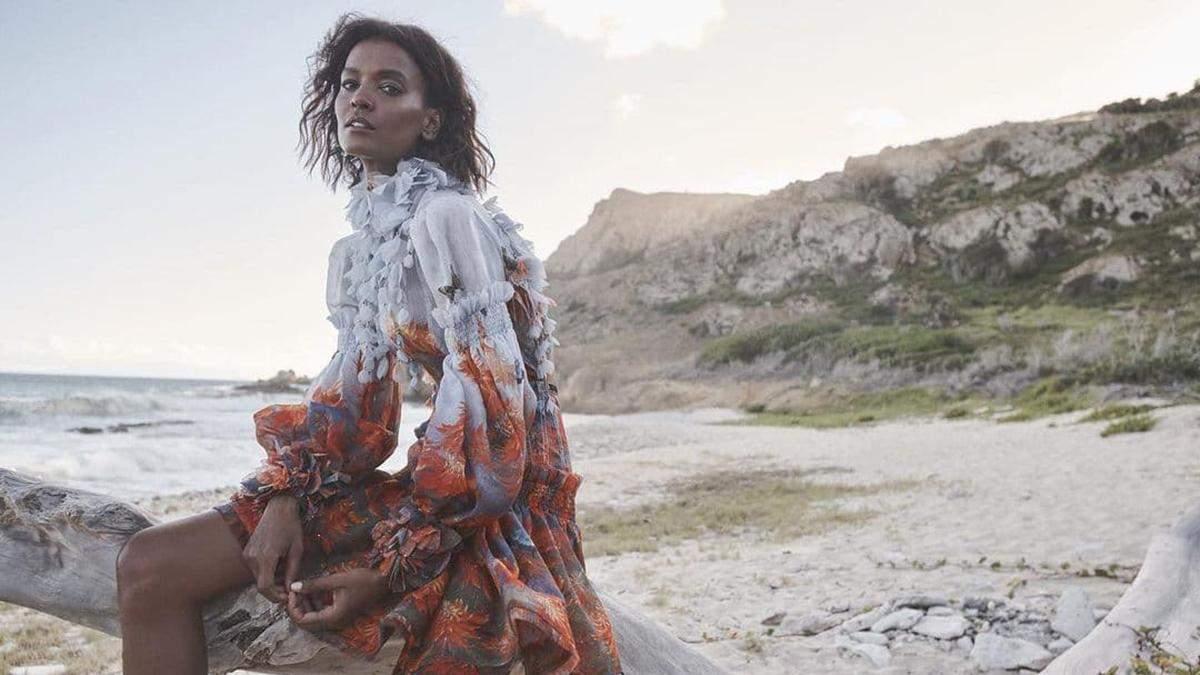 """Зірка фільму """"Квітка пустелі"""" Лія Кебеде знялася у вишуканій фотосесії для Zimmermann: фото"""