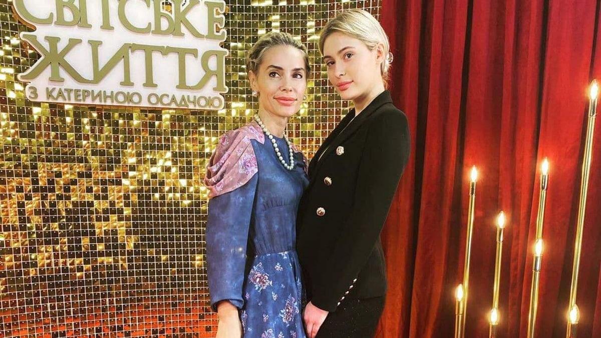 Виталина Ющенко с дочкой Доменикой посетили Ukrainian Fashion Week: стильные образы