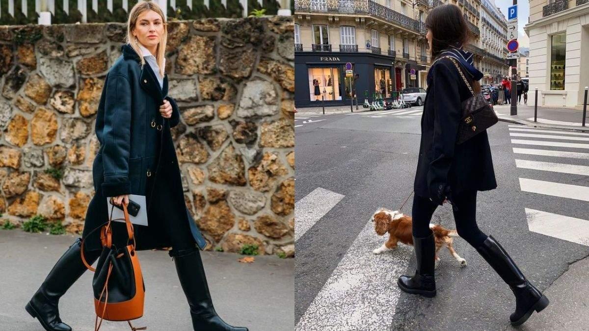 Тренд весны – жокейские сапоги: стильные образы для прогулок