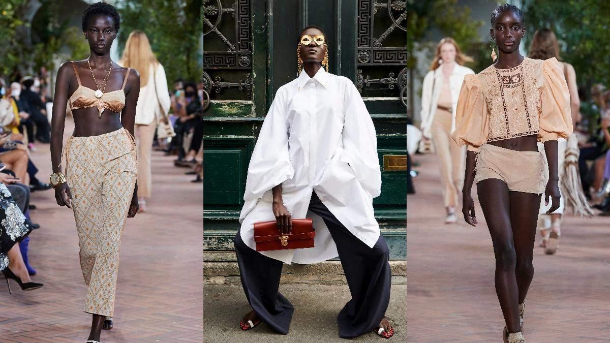 Бра, сорочка oversize та рукави-буфи: головні тренди одягу весна-літо 2021