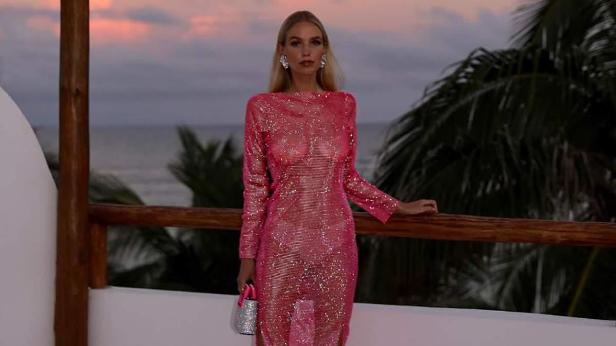 Романтические и элегантные платья на День влюбленных: черпаем вдохновение из образов Леони Ханне