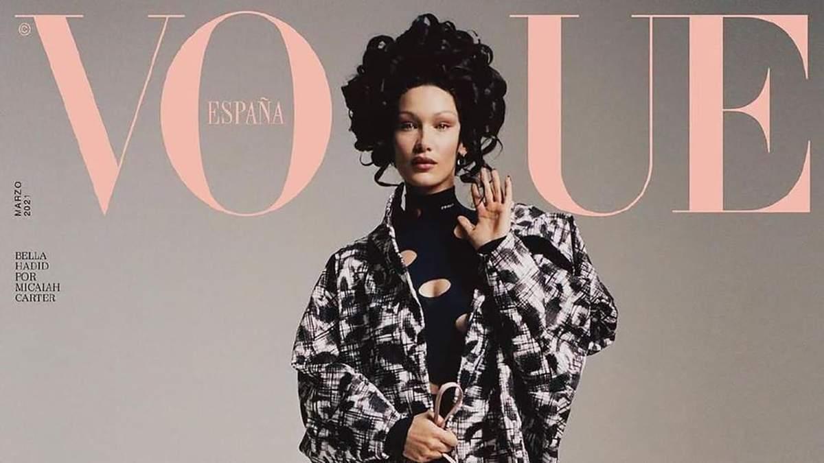 Белла Хадид позирует для Vogue: фото