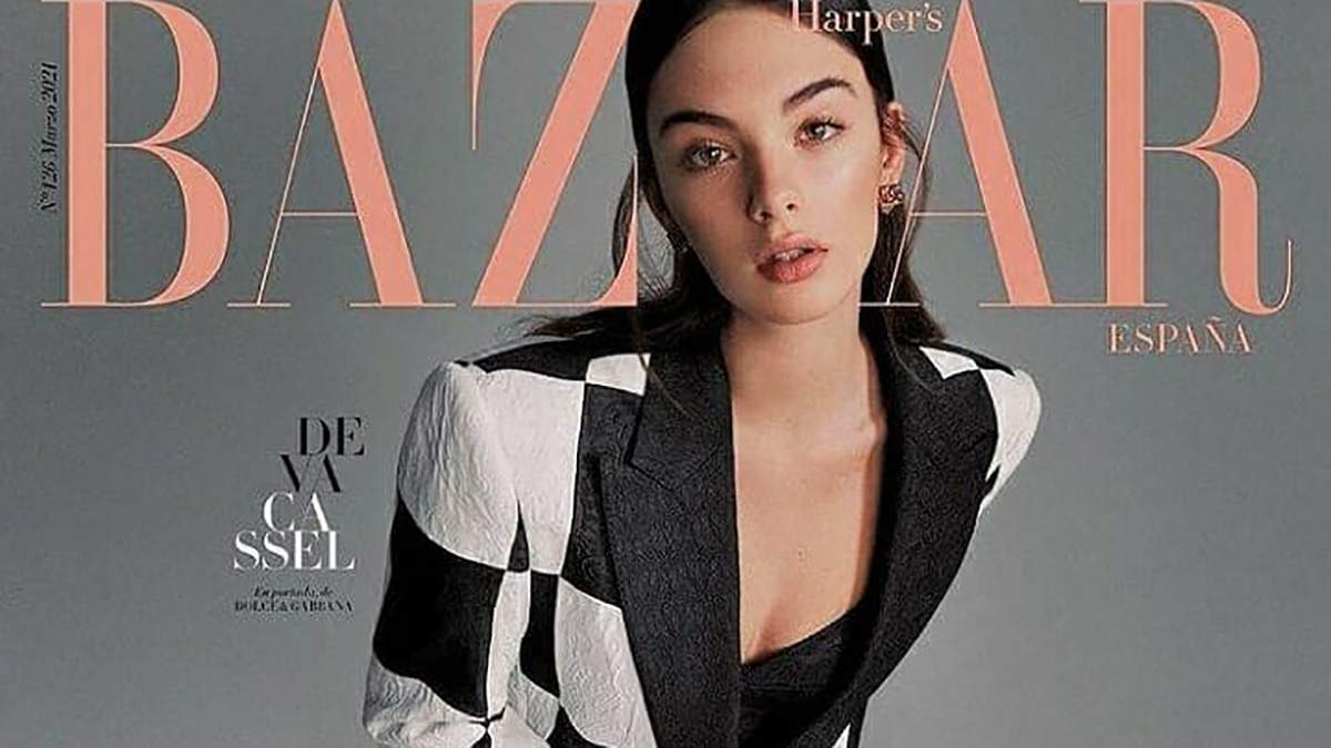 Дева Кассель покоряет модную индустрию: девушка появилась на обложке Harper's Bazaar