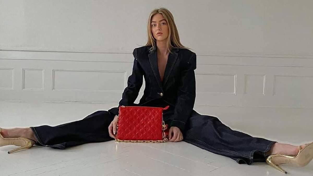Новый объект обожания – сумка Louis Vuitton Coussin: как ее носят инфлюэнсеры