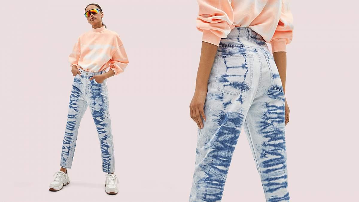Як пофарбувати джинси в техніці тай-дай: 5 кроків