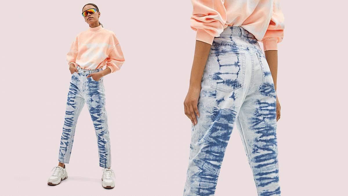Как покрасить джинсы в технике тай-дай 5 шагов