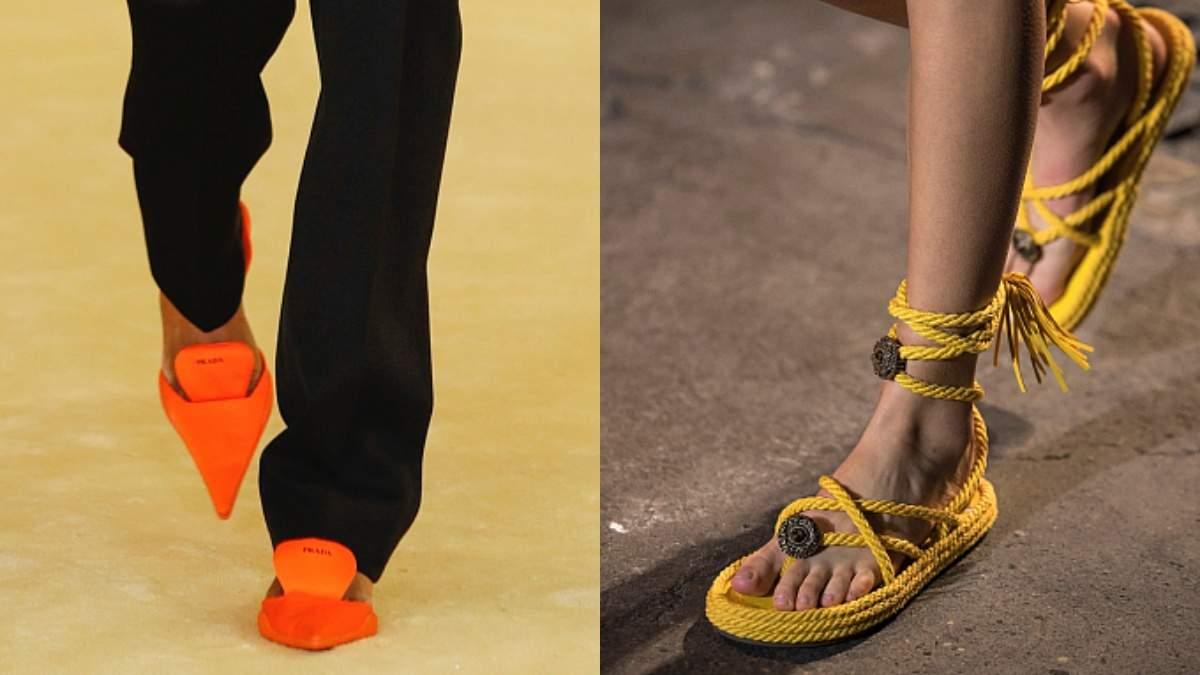 Трендовая обувь весны-лета 2021: фото