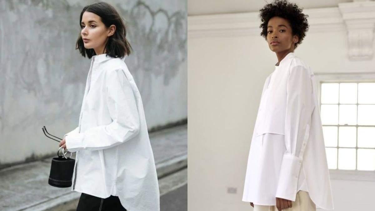 З чим можна носити білі сорочки: добірка