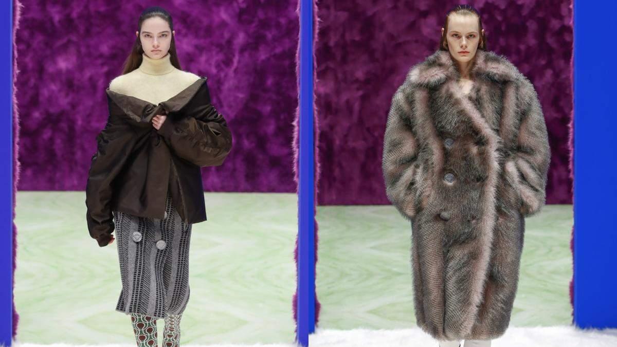Жіноча колекція Prada осінь-зима 2021/2022: фото