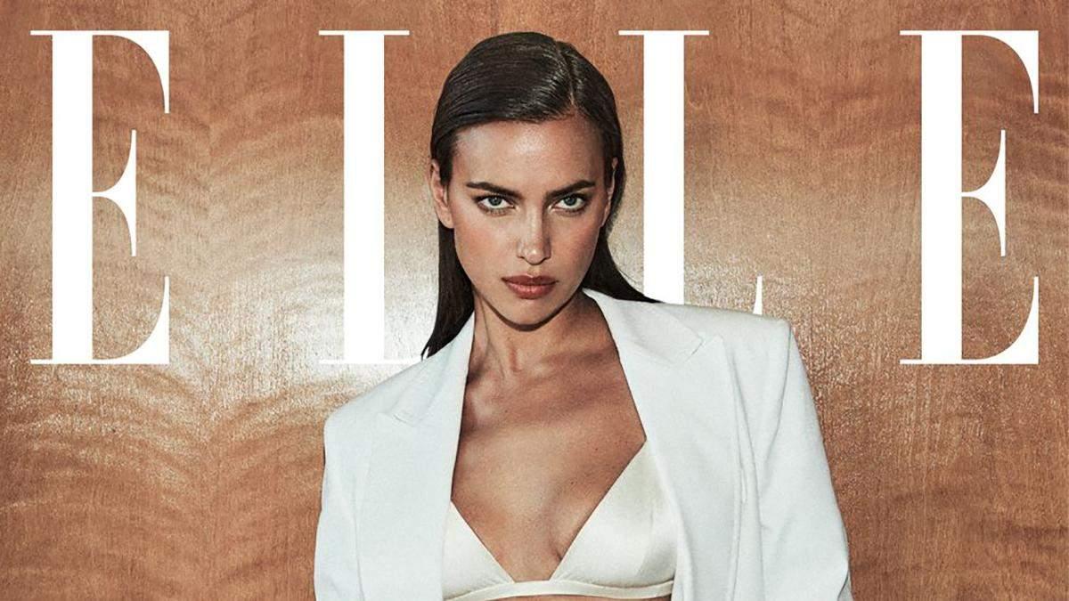 Ірина Шейк з'явилася на обкладинці Elle: фото