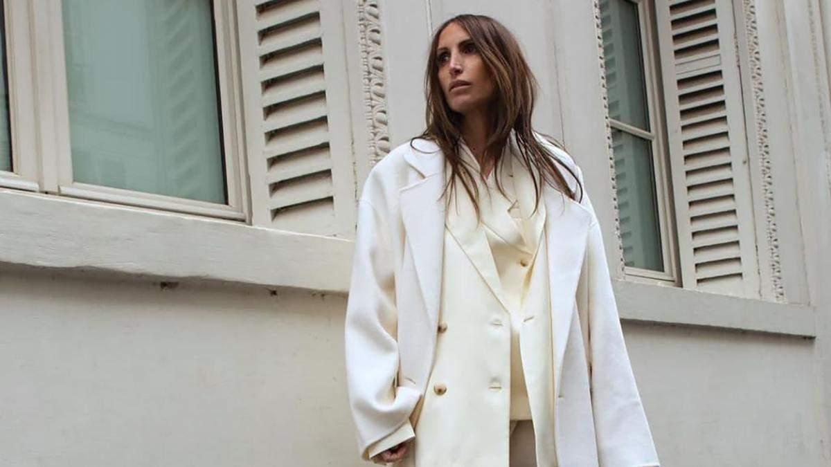 Какие пальто носят этой весной известные блогеры: фото