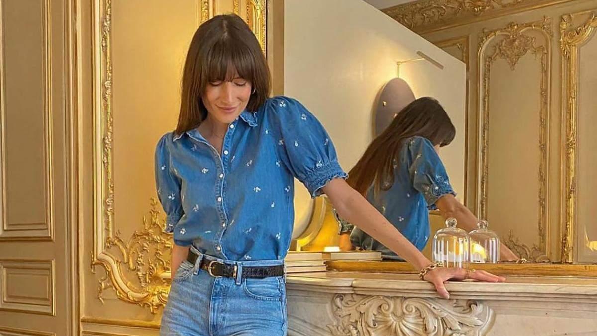 Жюлі Феррері приміряли стильні джинси