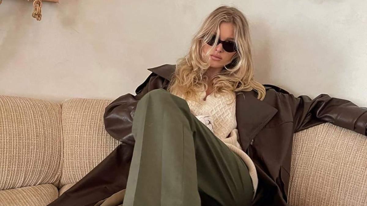 Стильный образ Эльзы Госк: фото
