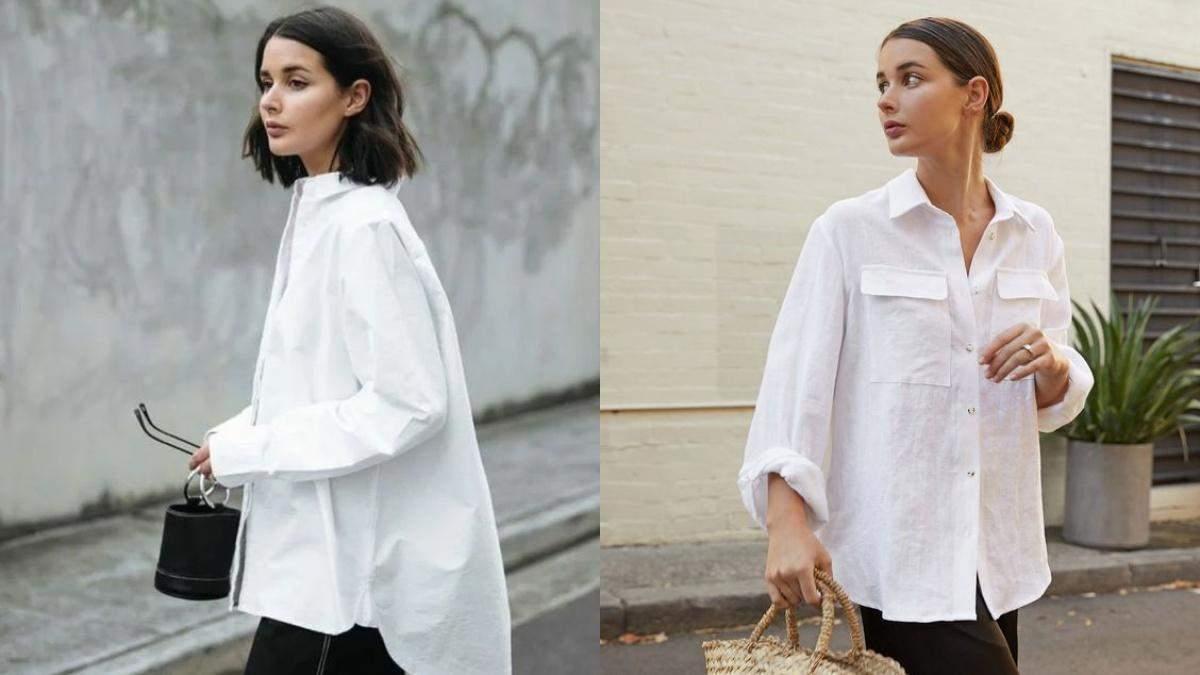 Як правильно обрати білу сорочку