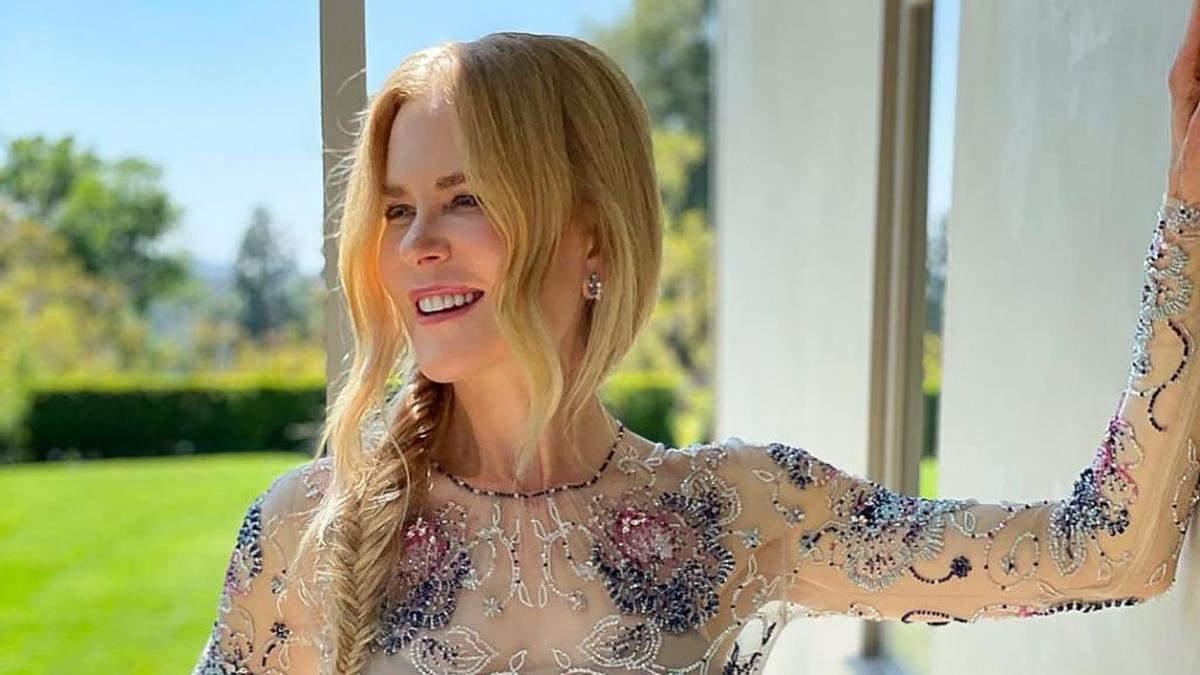 Николь Кидман в платье Armani поразила своих поклонников