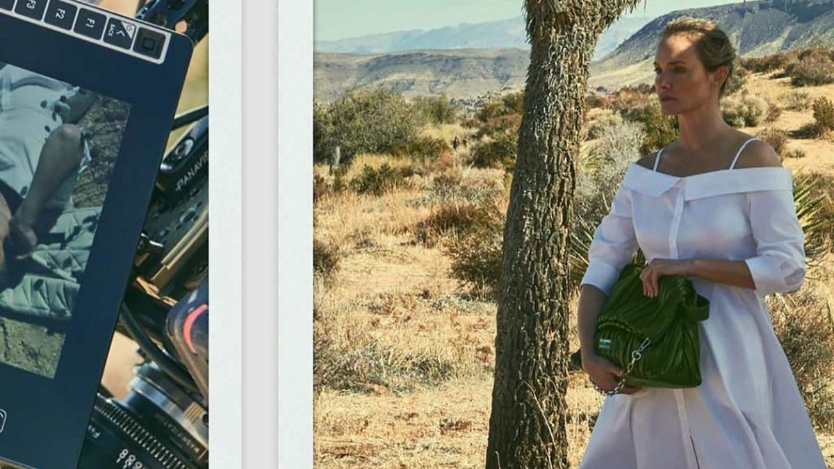 Эмбер Валетта и Karl Lagerfeld выпустили сумки из кактусов
