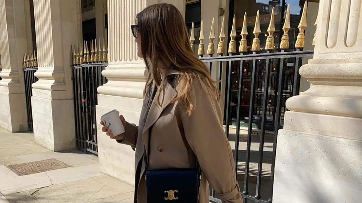 Тренч и леггинсы – весеннее комбо, которое следует добавить в свой гардероб: стильные образы