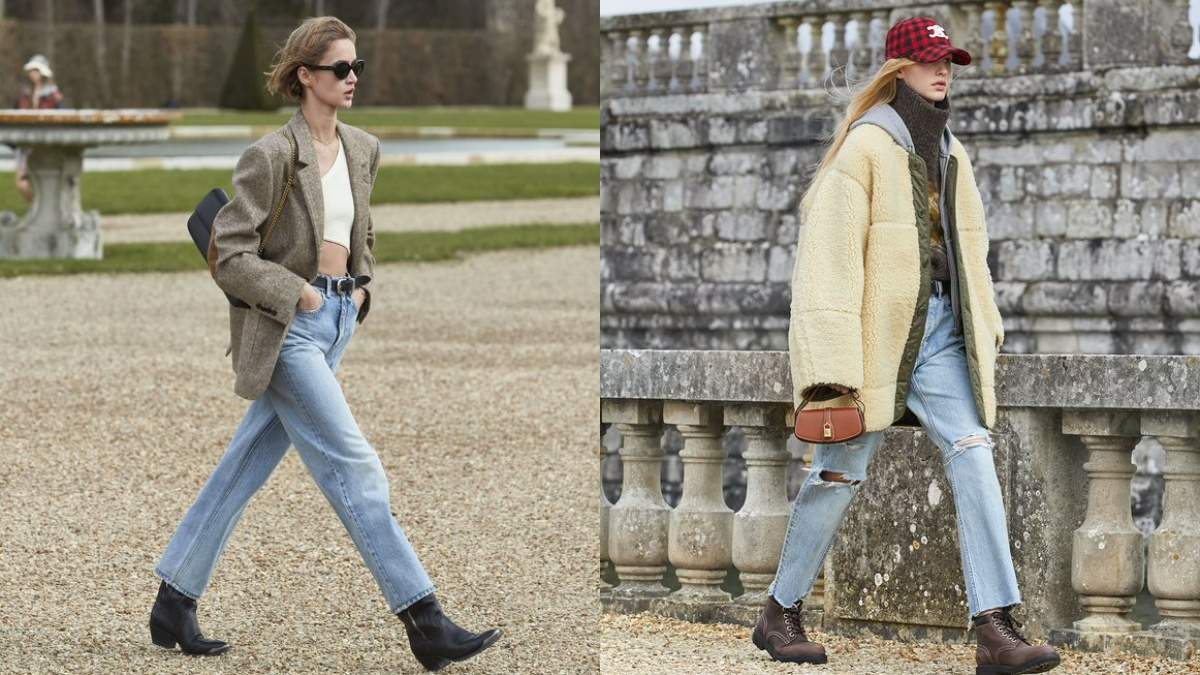 Джинсовые куртки, клетчатые жакеты и бомберы: Celine представили осенне-зимнюю женскую коллекцию