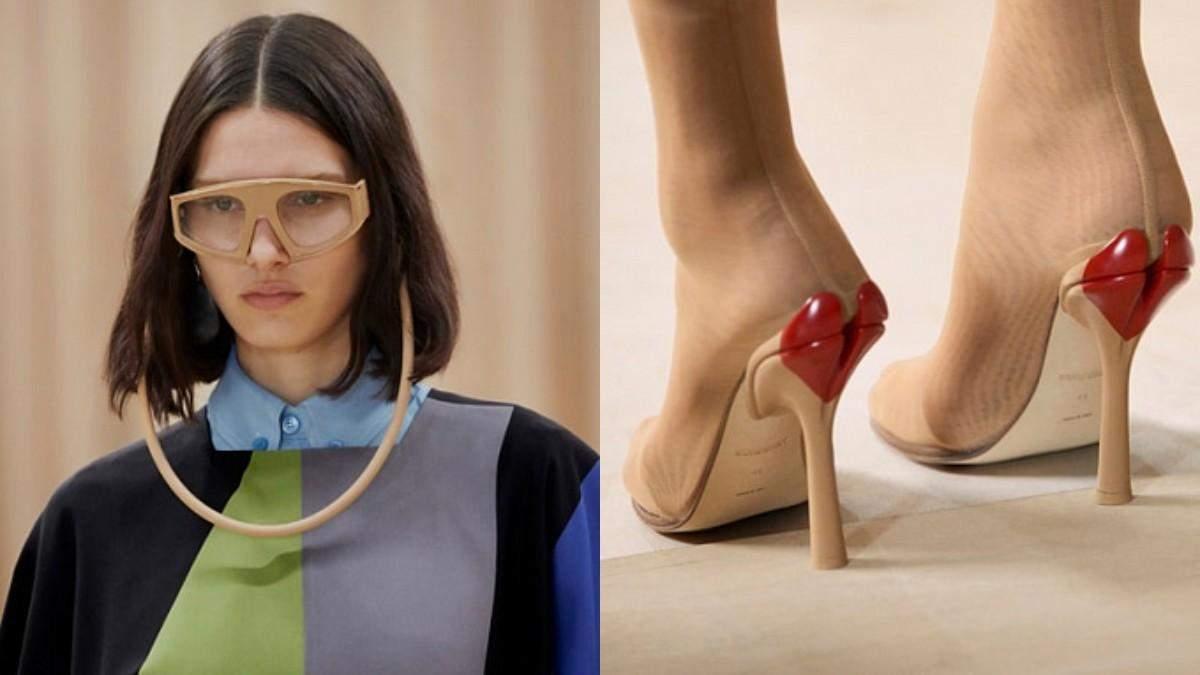 Ботильйони з серцем та сумки-тоути: Burberry представили жіночу колекцію осінь – зима 2021/22
