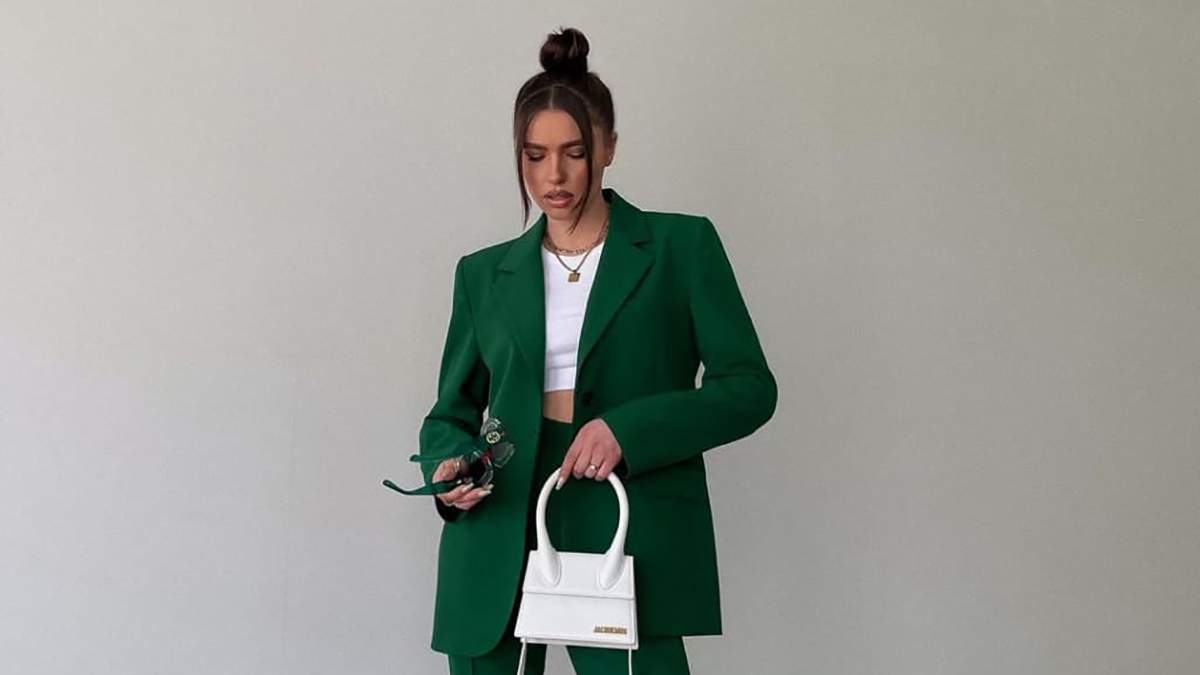 Як знаменитості носять зелений колір цієї весни
