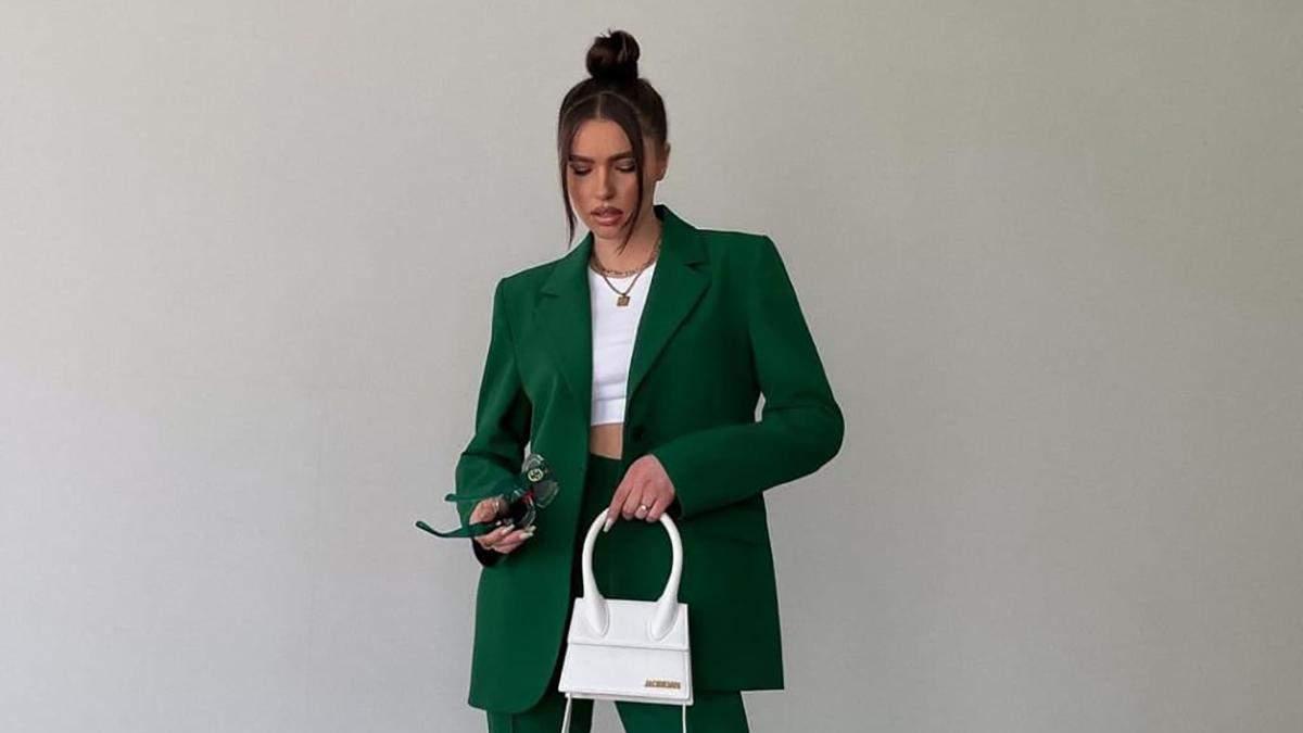 Как знаменитости носят зеленый цвет этой весной